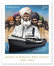 Komagata-Maru-Stamp
